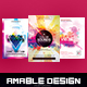 3 in 1 Color Sounds Flyer/Poster Bundle - GraphicRiver Item for Sale