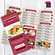 TriFold Restaurant Menu Template Vol. 10 - GraphicRiver Item for Sale
