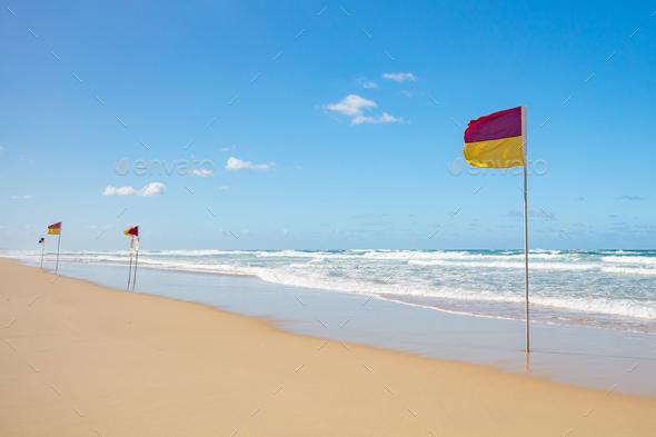 Gold Coast Lifeguard - Stock Photo - Images