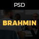 Brahmin: One Page Portfolio PSD Template - ThemeForest Item for Sale