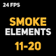 Liquid Elements 2 Smokes 11-20 - VideoHive Item for Sale