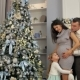 Portrait of a Happy Family Near the Christmas Tree - VideoHive Item for Sale