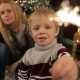 Mother and Son and Sparklers at the Christmas Tree - VideoHive Item for Sale