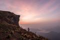 Beautiful landscape with long exposure at pu chi fa, Chiang rai, Thailand - PhotoDune Item for Sale