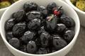 Bowl with shiny black olives - PhotoDune Item for Sale