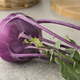Fresh purple kohlrabi - PhotoDune Item for Sale
