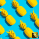 Summer Backgrounds | Pineapple Flat Lay - VideoHive Item for Sale