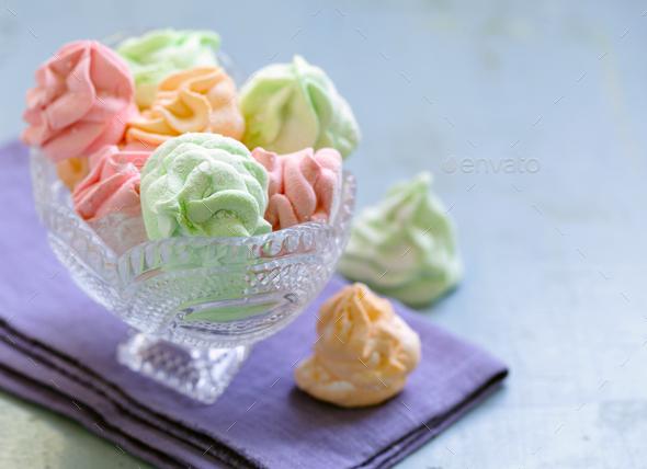 Dessert Marshmallow - Stock Photo - Images