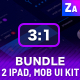 UI Bundle | 2 Tablets & App Mobile - GraphicRiver Item for Sale