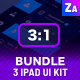 UI Bundle | 3 Tables App Dashboard Kit - GraphicRiver Item for Sale
