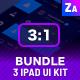 UI Bundle | 3 Tables App Dashboard Kit - GraphicRiver Item for Sale