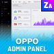 Oppo - Responsive Admin Template  - GraphicRiver Item for Sale