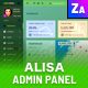 Alisa Fusion - Responsive Admin Template  - GraphicRiver Item for Sale