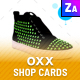 OXX - Shop Cards - GraphicRiver Item for Sale