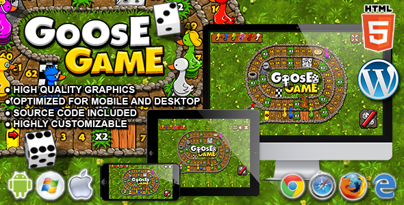 Goose Game - HTML5 Board Game - CodeCanyon Item for Sale
