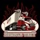Vector Cartoon Semi Truck Template - GraphicRiver Item for Sale