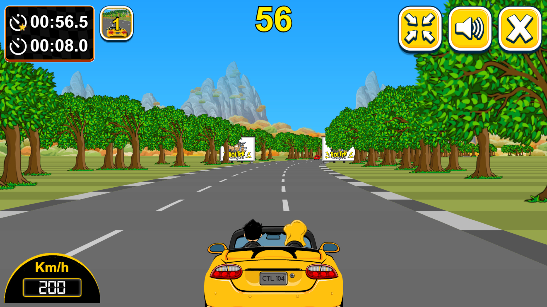 Car Rush - HTML5 Racing Game by codethislab | CodeCanyon