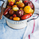 Tomatoes in inamel colander - PhotoDune Item for Sale