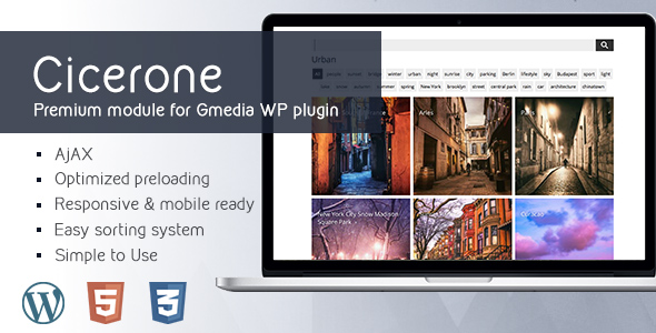 Cicerone 1.2 | MultiGrid Gallery Module for Gmedia Gallery WordPress plugin            Nulled