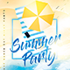 Summer Beach Party Flyer - GraphicRiver Item for Sale