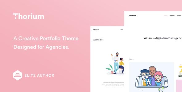 Thorium - Portfolio for Freelancers and Agencies