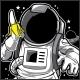 Astronaut & Banana T-Shirt Design - GraphicRiver Item for Sale