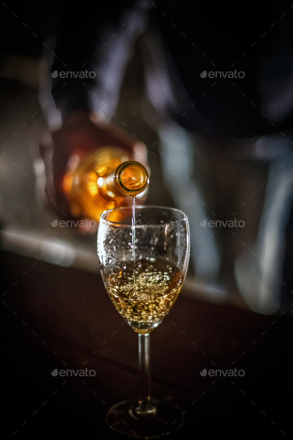 White wine - Stock Photo - Images