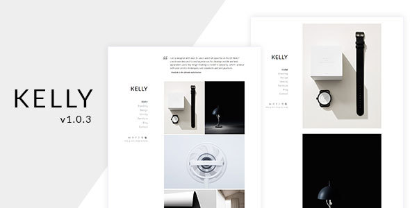 Kelly - Minimal Portfolio & Photography WordPress Theme - Portfolio Creative