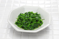 chinese white wine stir fried with toothed bur clover, shanghai cuisine - PhotoDune Item for Sale