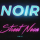 Noir Neon Intro - VideoHive Item for Sale