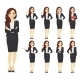 Businesswoman Character Set - GraphicRiver Item for Sale