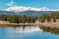 Lake at Rocky Mountains, Colorado, USA. - PhotoDune Item for Sale