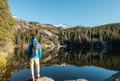 Tourist near Bear Lake in Colorado - PhotoDune Item for Sale