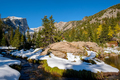 Rocky Mountain National Park in snow at autumn - PhotoDune Item for Sale