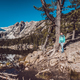 Tourist near Dream Lake in Colorado - PhotoDune Item for Sale