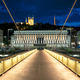 Night view of Lyon from footbridge - PhotoDune Item for Sale
