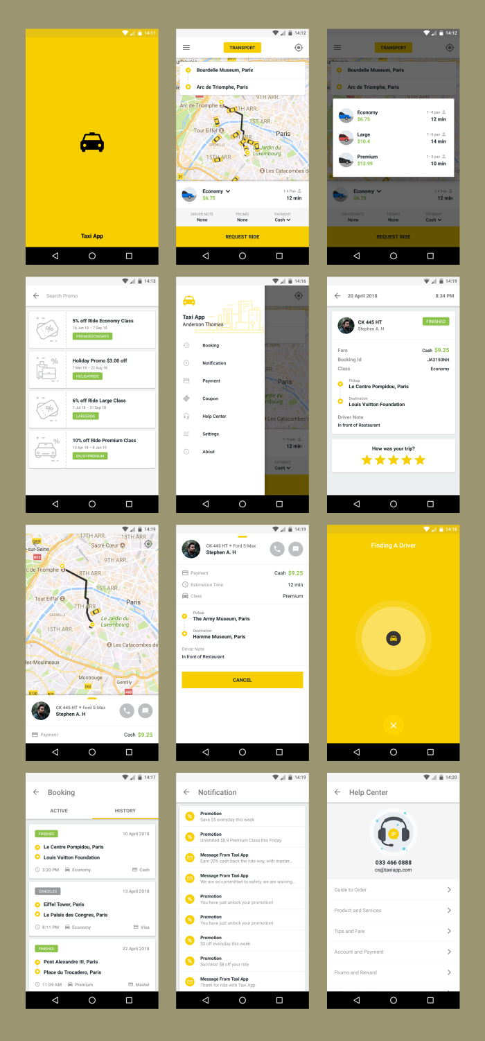 Android Material UI Template 4.0 - 38