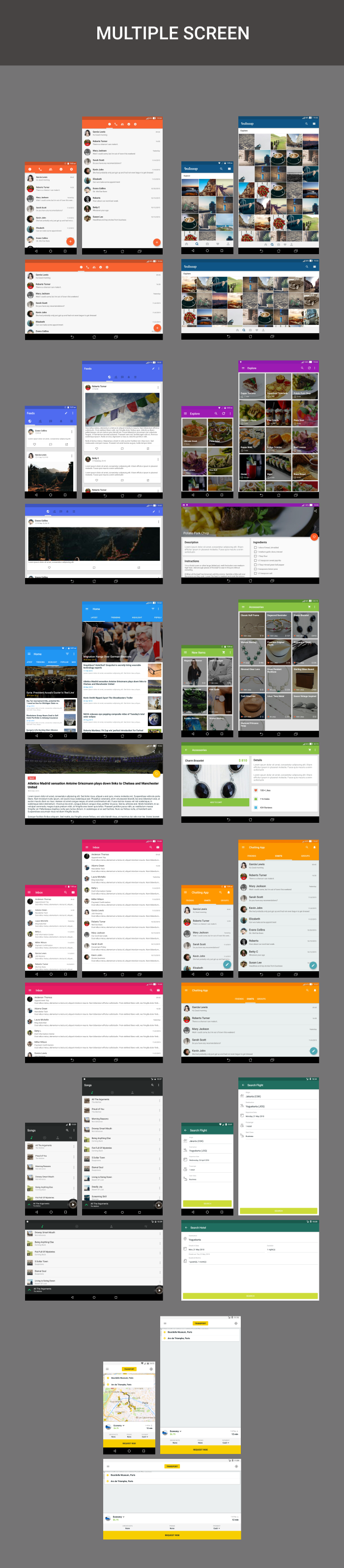 Android Material UI Template 4.0 - 39