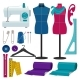Illustrations for Tailor Shop - GraphicRiver Item for Sale