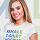 Female T-Shirt Mockups Vol4. Part 1 - GraphicRiver Item for Sale