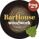 Barhouse - Wooden House Construction and Woodworks WordPress Theme