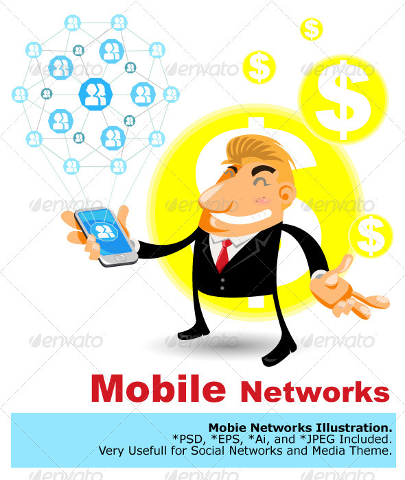 Social Networks Mobile - Concepts Business