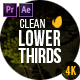Lower Thirds 2.3 - VideoHive Item for Sale