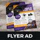 Product Sale Promotion Flyer Ad Design v2 - GraphicRiver Item for Sale