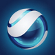 Blue Sphere Logo - GraphicRiver Item for Sale