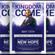 Kingdom Come Church Flyer Template