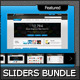 Content Sliders Golden Bundle - GraphicRiver Item for Sale