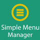 RvMenu - Simple Laravel menu manager - CodeCanyon Item for Sale