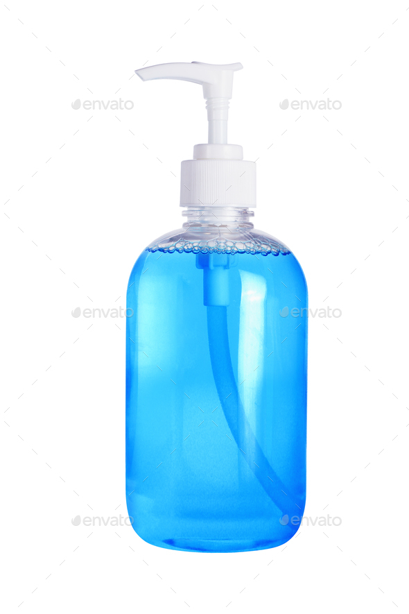 Liquid Hand Sanitizer Soap - Stock Photo - Images