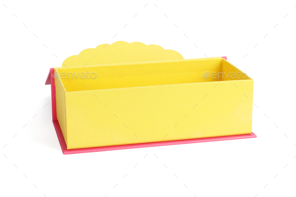 Open Chinese Gift Box - Stock Photo - Images